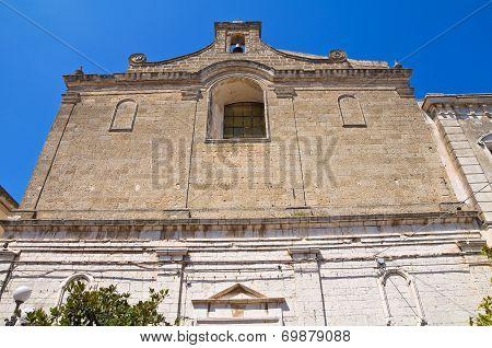 Church of Purgatory. Minervino Murge. Puglia. Italy.