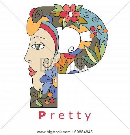 Letter P - Pretty