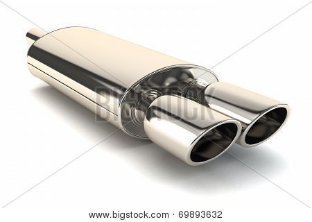 Chrome Exhaust Pipe