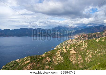 Gulf Of Porto, Corsica, France