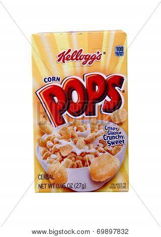 Box Of Kellogg's Corn Pops Cereal