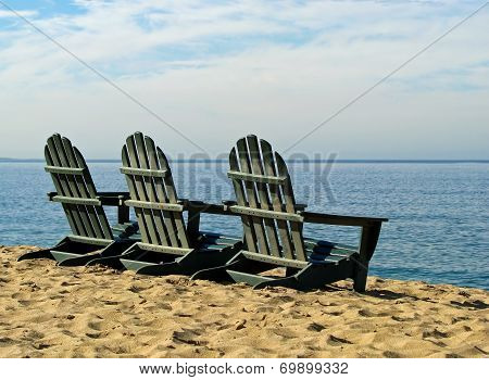 Adirondack Beach Chairs