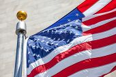 picture of flag pole  - Close - JPG