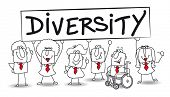 stock photo of diversity  - diversity - JPG