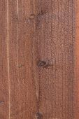 Weathered Wood Vertical poster