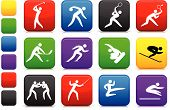 stock photo of karate-do  - Original vector illustration - JPG