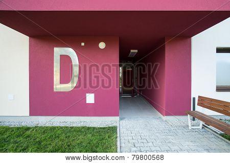 Reddish Staircase