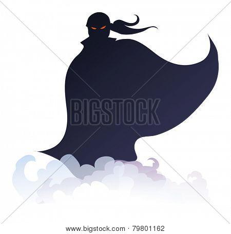 Mysterious hero
