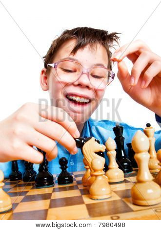 Nerd Play Chess