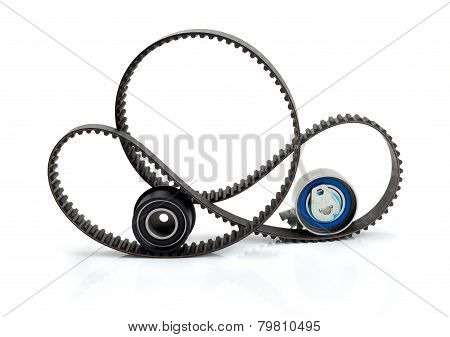 Timing Belt, Pulley And Tensioner.