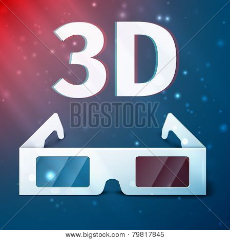 Three D glasses