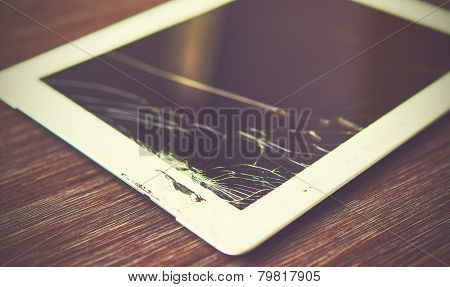 Tablet Pc Is Broken