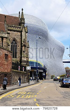 Selfridges building, Birmingham.