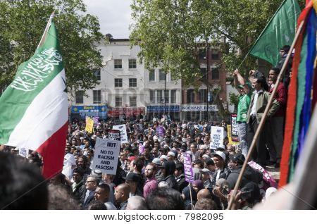 Rally Against Bnp In London, June 20, 2010