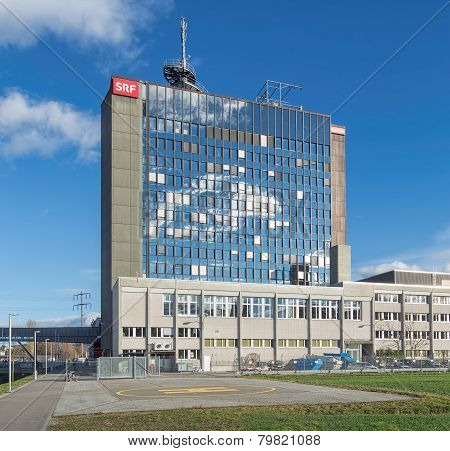 Swiss Radio and Television Building in Zurich