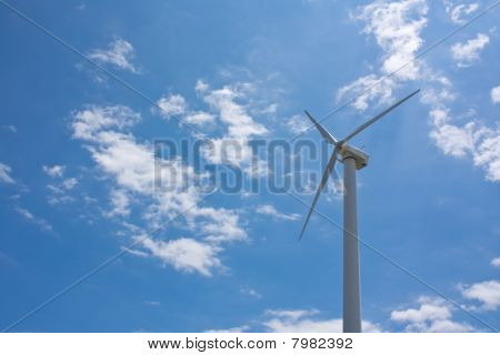 Wind Powered Turbine