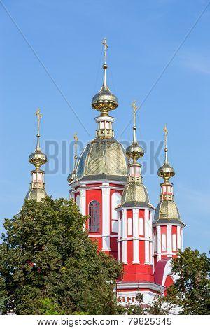 Russia. Tambov. Church Of St. John The Baptist Of Kazan Monastery