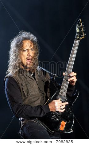 Guitarrista del grupo americano de metal Metallica