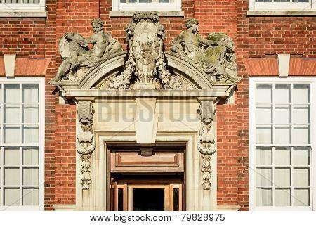 Ornate Stone Doorway