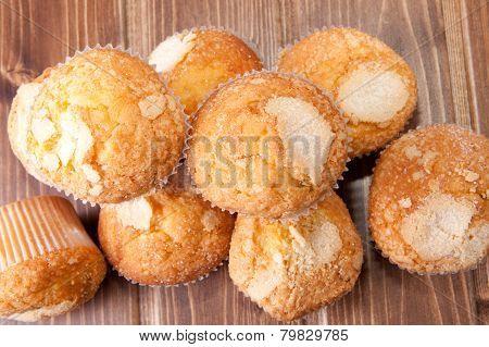Traditional Spanish Madeleines