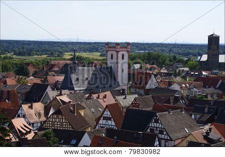 wonderful views over the city of Steinheim