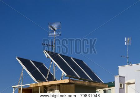 Antennas And Solar Panels