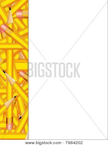 Pencils Side Frame