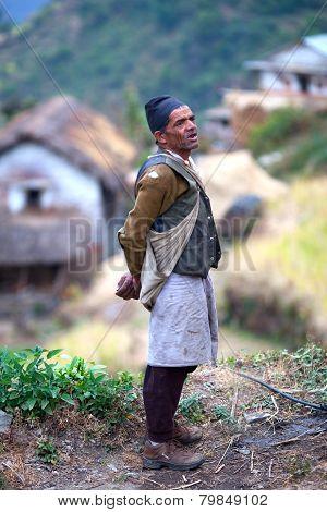 Gurung man, Nepal