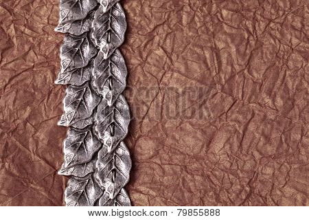 Crumpled Tissue Paper Texture For Background