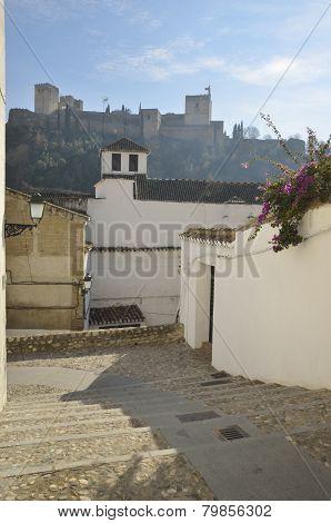 Alhambra From Albaycin