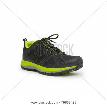 Sneakers Isolated On The White Background