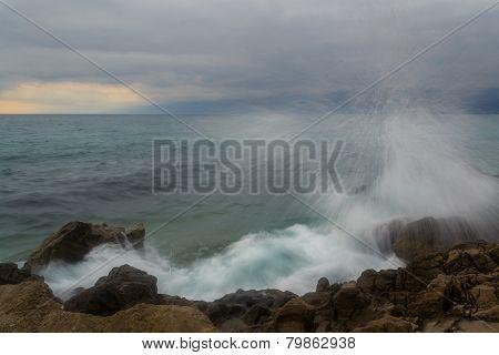 Winter Sea Storm