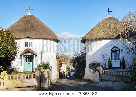 Veryan Round Houses