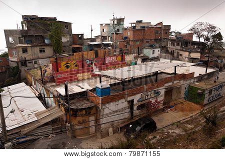 Vidigal Favela in Rio de Janeiro
