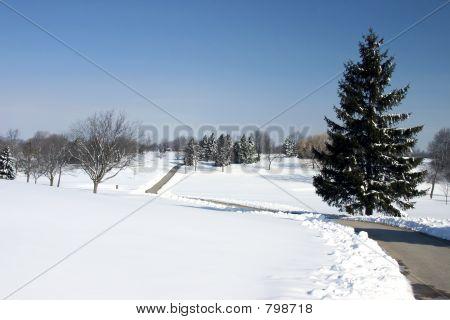Golf Winter Wonderland