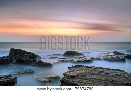 Coogee Beach Sydney Sunrise Seascape