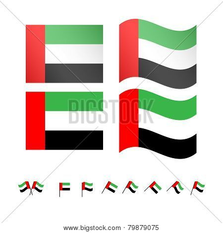 United Arab Emirates Flags