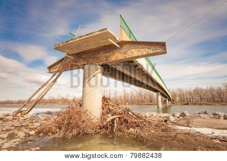 Flood Damaged Bridge