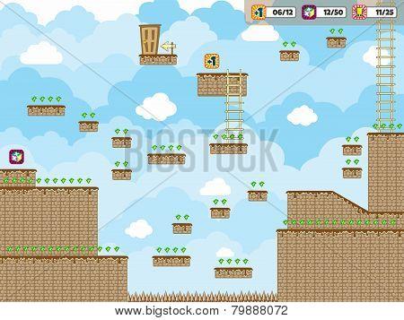 game asset screen