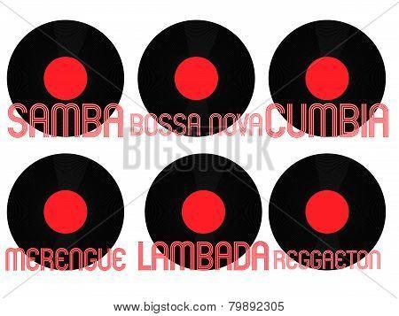 Latin Music Genres Vinyl 6