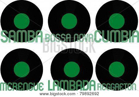 Latin Music Genres Vinyl 8