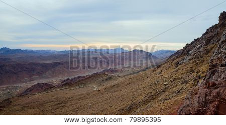 Sinai Mountains In The Morning