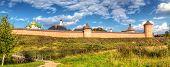stock photo of paysage  - Monastery of St - JPG