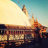 picture of buddhist  - Stupa  - JPG