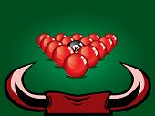 image of snooker  - Snooker vector design - JPG