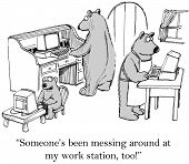 pic of gag  - The business bears computers have been hacked - JPG