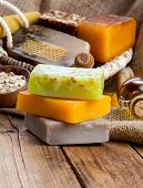 Постер, плакат: Honey Handmade Soap