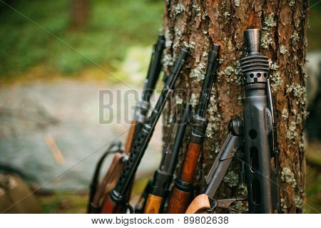 Soviet and German rifles of World War II - SVT 40 - Samozaryadna