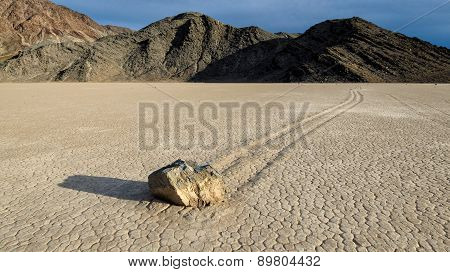 View of the race track, Death valley