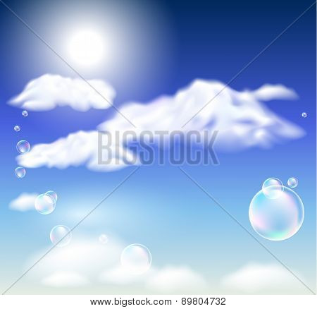 Clouds  And  Bubbles
